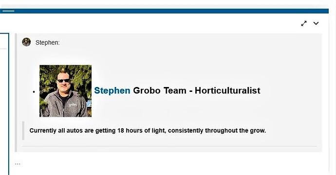 AutoFlowering..@Stephen~~