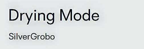 ~@DryingMode..--