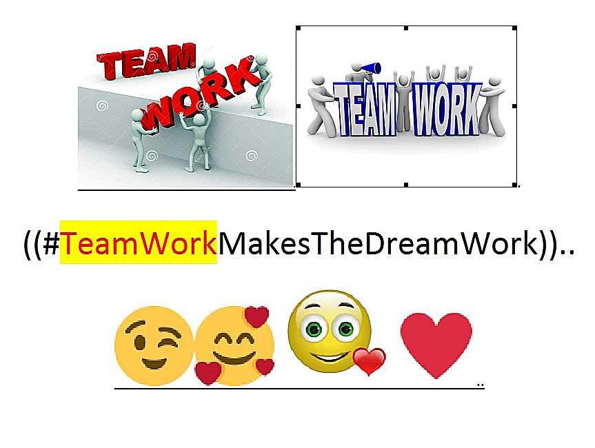 ~@TeamWorkMakes..--