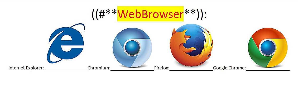 ~@WebBrowsers..--